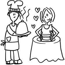 cocinero enamorado