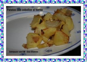 patatas con cebolla horno GM