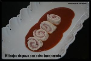milhojas de pavo con salsa inesperada2