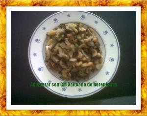 Verduras asadas (salteado de berenjena)