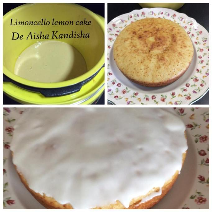 Lemoncello Lemon Cake de Aysha Kandisha