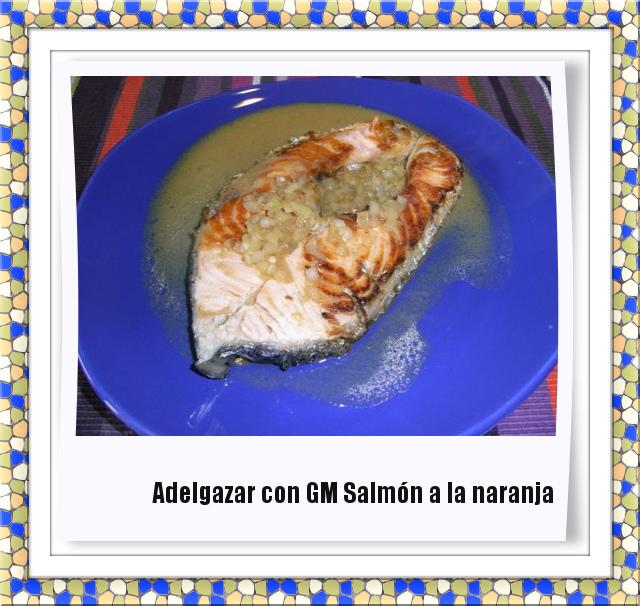 salmon a la naranja GM