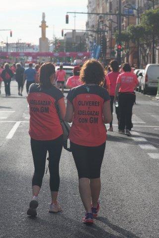 ADELGAZAR CON GM EN LACARRERA DE LA MUJER VALENCIA 2015