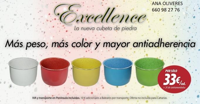 cubetas excellence colores CON NOMBRE