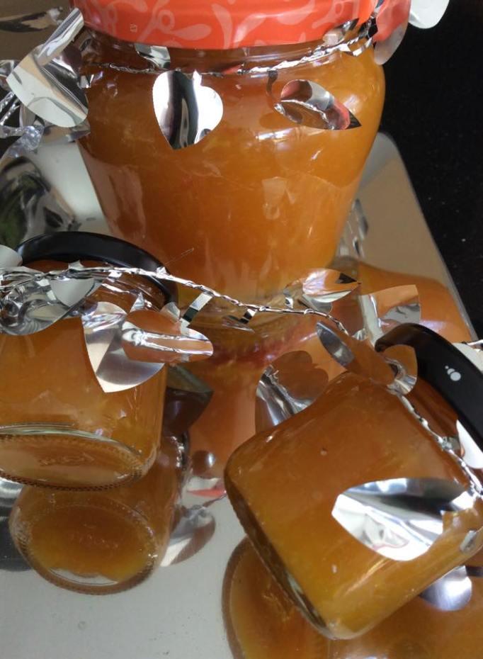 Mermelada de naranjas y limones